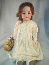 """Antique German Bisque Simon & Halbig #550 Doll Composition Stamped Body 22"""""""