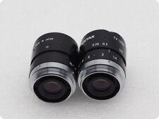 1PC USATO Pentax TV lens 25 mm 1: la 1.4 C2514-M