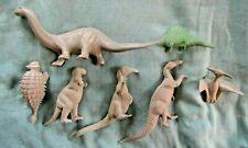 Marx Prehistoric Dinosaurs Including The Brontosaurus.Nm/Mint Condition