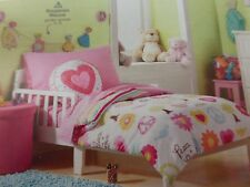 4 pc Circo Peace Girl Collection Toddler Bed Set NIP