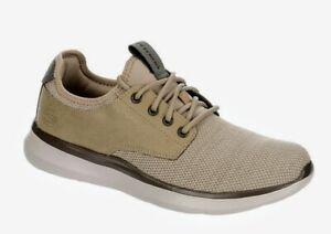 Skechers Streetwear ~ Delson 2.0 WESLO Taupe Memory Foam Men's Shoes