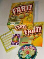 Fart Game CD Of Noises Juicy Squishy NEW Opened Box Family Fun Gross Funny LYAO!