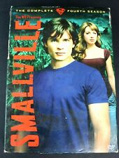 Smallville The Complete Fourth 4 Season 6 Disc Set DVDs with Slip Covers