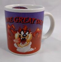 Looney Tunes Taz Coffee Tea Mug One Great Dad 10oz Tasmanian Devil