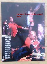 More details for van halen 'men in uniform' magazine photo/poster/clipping 11x8 inches