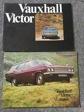 Vauxhall Victor Estate FD 1969 + Vauxhall Victor range brochure 1971