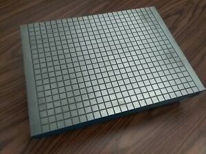 """Machinist Cast Iron Lapping Plate 12x16"""", 4"""" height #LP-1216-new"""