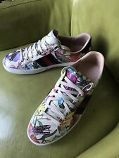 "Gucci Ace "" Floral""  sneakers Gucci Size 8 US Size 9 Worn Twice $730"