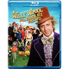 Willy Wonka and the Chocolate Factory (Blu-ray Disc, 2010) BRAND NEW