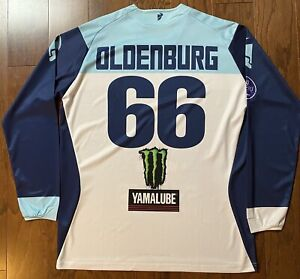 Mitchell Oldenburg Monster Energy Yamaha Thor AMA Motocross Jersey - Signed!