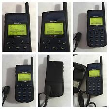 CELLULARE PHILIPS GENIE GSM VINTAGE BLU CLASSIC PHONE UNLOCKED SIM FREE DEBLOQUE