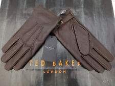 TED BAKER Leather Glove Exquisite KORR Chocolate Size M/L Gloves BNWT RRP£75
