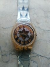"""orologio swatch STANDARD GENT modello """"DECOSCRAPER"""" GP109 anno 1994 NUOVO DUMMY"""