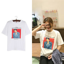 The Gentlewoman Magazine Print T-shirt Summer White Tee Loose Women Casual Tops