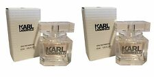 Karl Lagerfeld Pour Femme Miniature Mini Perfume 4.5ml EDP x2