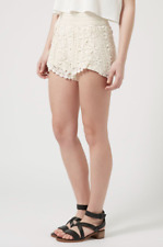 TOPSHOP~Lace Collection Ivory Shorts- WOMEN'S/Juniors Size 4