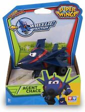 """Super Wings Series 2"""" Agent Chace Super Wings Vroom N Zoom Toy"""