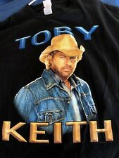 Toby Keith I'm As Good Once As I Ever Was Black 2005 T-Shirt sz XL