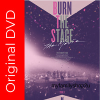 NEW DVD BTS Burn The Stage:The Movie 2018 (Malaysia live Edition) FREE SHIPPING