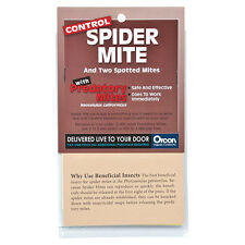 Orcon Predatory Mite Pre-Paid Certificate, 2,000 Adults - Kills Spider Mites