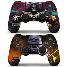2 Packs PS4 Controllers Dualshock Skin Thanos The Avengers Marvel Vinyl Stickers