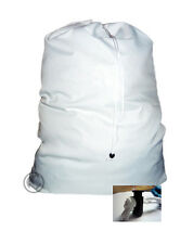 Heavy Duty Laundry Bag with Nylon Drawstring, 600 Denier Fabric