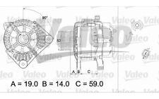 VALEO Alternador para RENAULT MEGANE SCENIC LAGUNA 437439