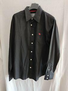 Abercrombie & Fitch Hemd schwarz Gr.XL *** NEU ***