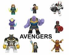 Lego Star Wars Super Heroes Lego Avengers Minifigures Marvel Iron Man Thor Hulk