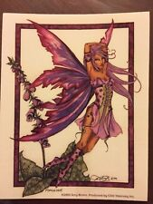 "AMY BROWN FAIRY STICKER-20 4""x5"""