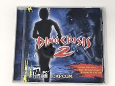 Dino Crisis 2 PC CD ROM Windows 98/2000/ME/XP - Tested & Working