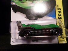HW HOT WHEELS 2015 HW OFF-ROAD #103/250 HOVER STORM HOTWHEELS GREEN HOVERCRAFT
