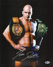 Bas Rutten Signed 11x14 Photo Beckett COA UFC Pancrase Belt Picture Autograph 20
