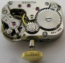 Lady watch movement Zenith 57 17 jewels for parts ...