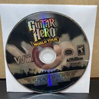 Guitar Hero World Tour - DISC ONLY - Nintendo Wii 2008 - Band