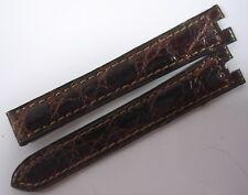 BRACELET CUIR CARTIER BOUCLE DEPLOYANTE POUR MONTRE 14 MM STOCK ANCIEN