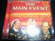 Main Event Olivia Newton John John Farnham & Anthony Warlow Highlights CD With B