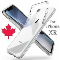 For iPhone XR Case - Clear Premium Thin Soft TPU Silicone Transparent Back Cover
