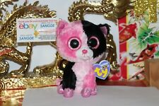 "TY BEANIE BOOS DAZZLE THE COLORBLOCK CAT.6"".JUSTICE EXCL.2013.MWNMT.NICE GIFT"