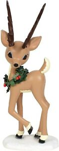 """Department 56 Rudolph The Red-Nosed Reindeer Donner Figurine, 7.75"""""""