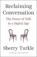 Reclaiming Conversation [Audio Book] by Sherry Tu, FREE SHIPPING, SEALED, NEW