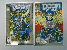 Doom 2099 #1+2 8.0 VF (1993)