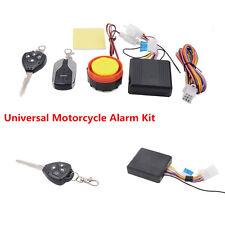 Motorcyle 12-24V Security Alarm System Remote Control Engine Start Keyless Entry