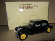 295F Eligor Citroën 11cv The Traction Front 1938 Black 1:20