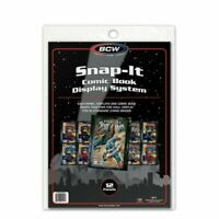 12 BCW Snap-it Comic Book Display ds