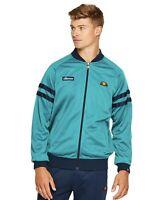 Ellesse Romeo Retro Fanfair Green Track Jacket Size M Free Post RRP £64.99