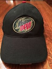 Mountain Dew Logo Hat Ball Cap Adjustable Made In USA