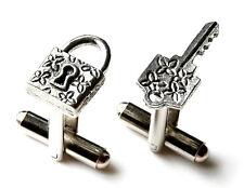 Lock and Key Cufflinks