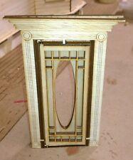 Victorian Door 1:12 scale with screen door and frames #3
