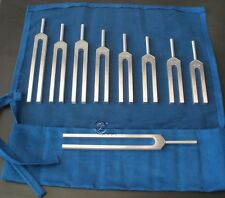 Solfeggio 9er Profi Stimmgabel Set - 528 Hz made in USA tuning forks diapasons